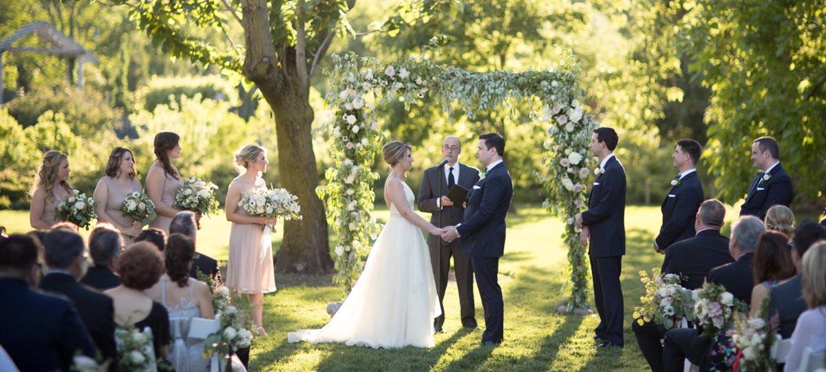 Brooklyn garden wedding