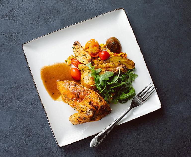 Chicken entrée