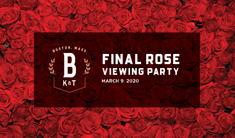 Banners Kitchen & Tap | Final Rose Viewing Party | March 9, 2020
