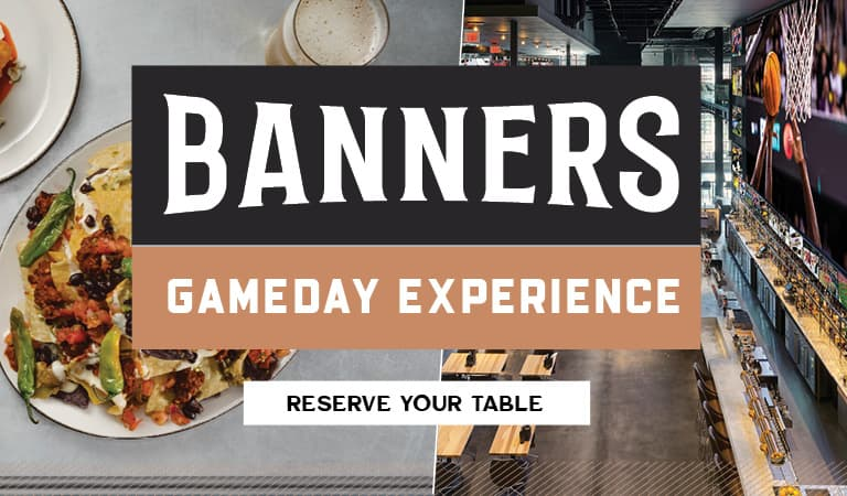 Banners Gameday Experience