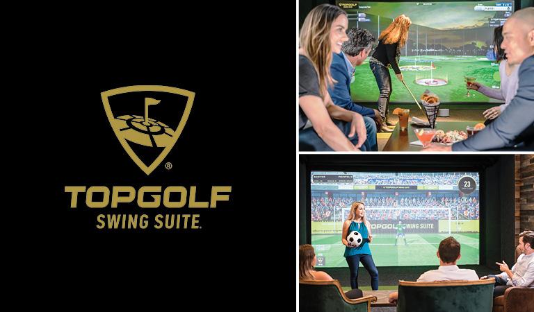 Topgolf Swing Suites | Customers enjoy Topgolf Swing Suites