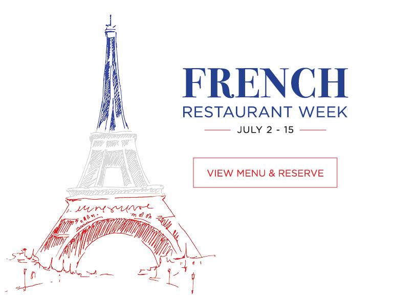 Fernch Restaurant Week July 2 - 15 2018