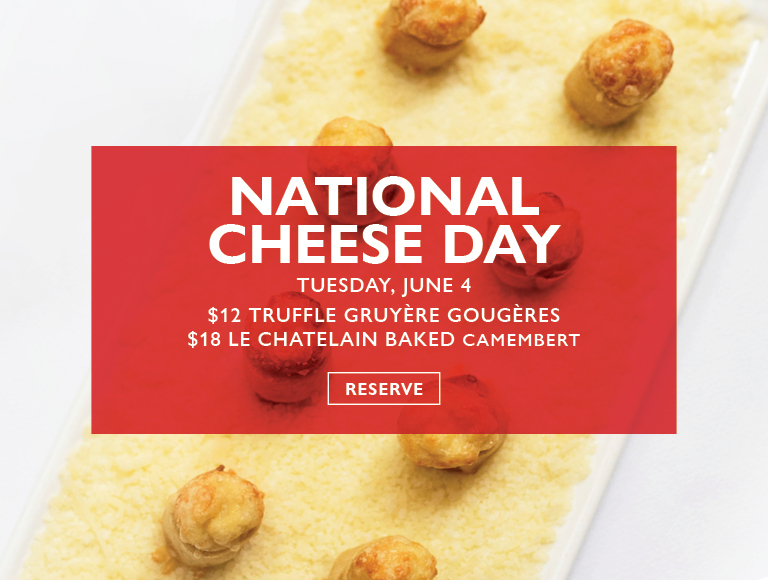 Reserve Now | National Cheese Day Specials in Midtown NYC