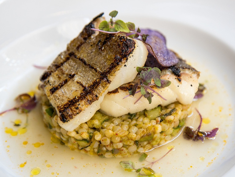 Grilled Cod | French Dining, Midtown, New York City