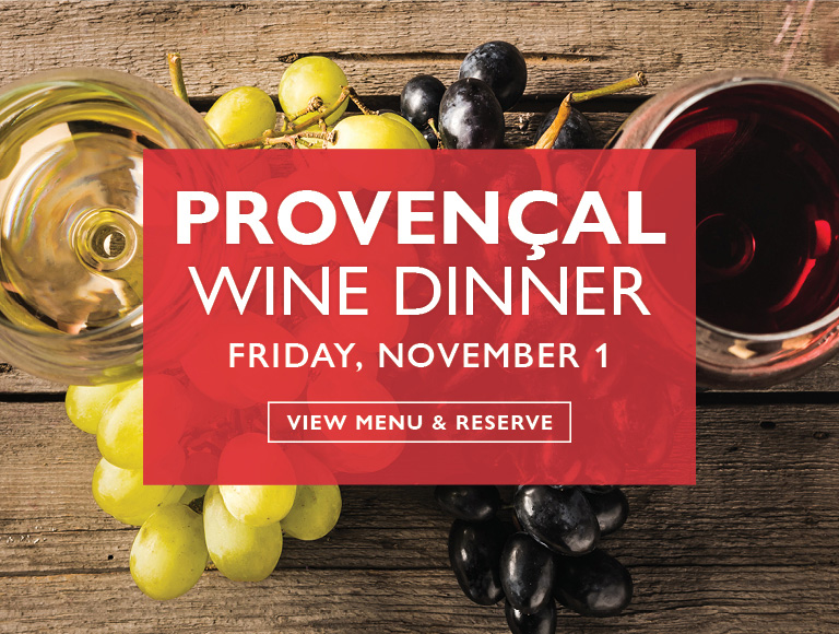 View Menu & Reserve | Provencal Wine Dinner at Cafe Centro in midtown NYC | Friday, November 1