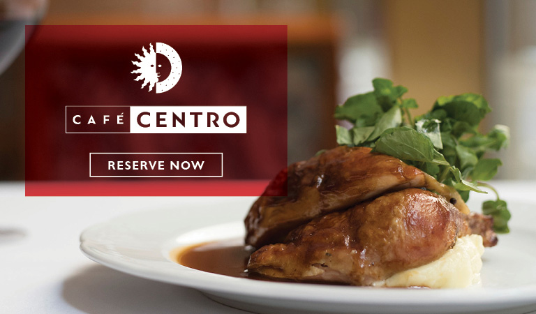 Roasted chicken | Reserve Now at Cafe Centro in midtown NYC