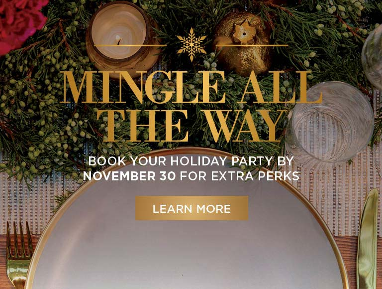Mingle All The Way, 2018 Holiday Planning, Book By November 2 for Exclusive Perks