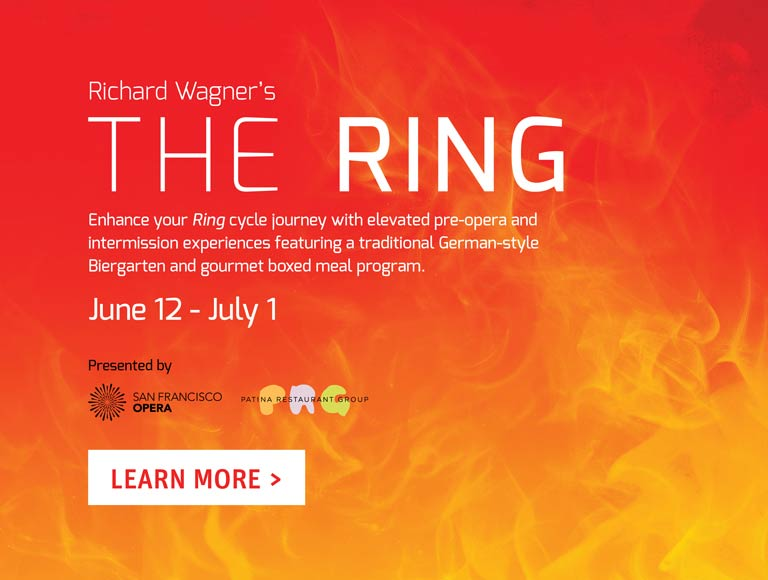 Richard Wagner's The Ring Boxed Meals at San Francisco Opera