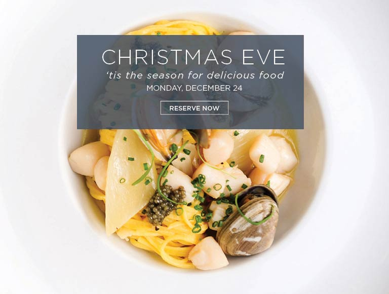 View Menu & Reserve for Christmas Eve Dinner at Cafe Pinot, Los Angeles dining