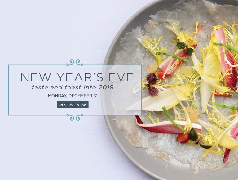 Reserve now and ring in 2019 at Cafe Pinot, Downtown Los Angeles