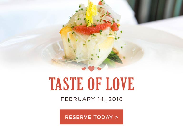 Reserve Today for Valentine's Day