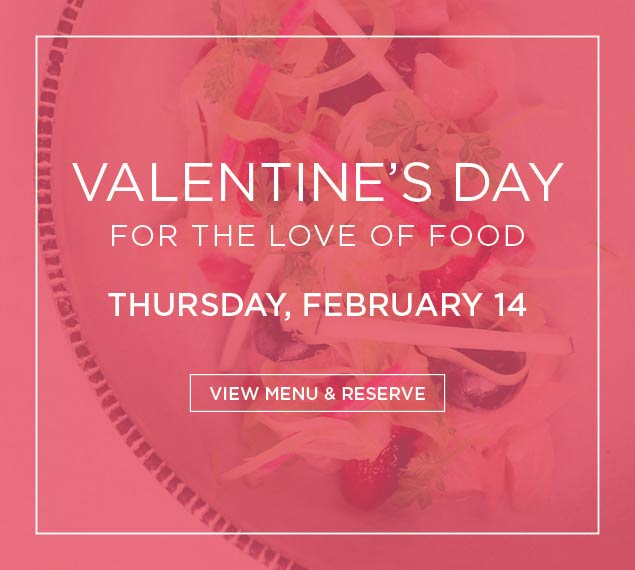 View Our Valentine's Day Menu