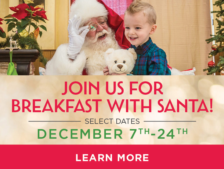 Breakfast with Santa at Catal Restaurant in Downtown Disney