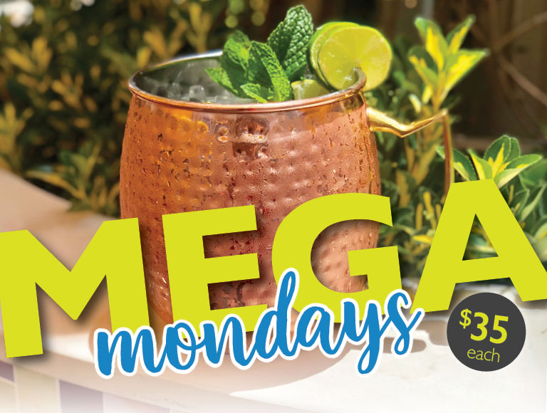 Mega Mondays at Catal Restaurant in Downtown Disney | $35 each