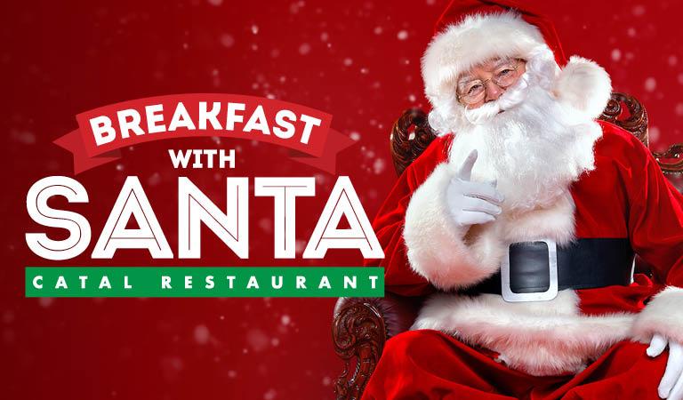 Breakfast With Santa at Catal Restaurant