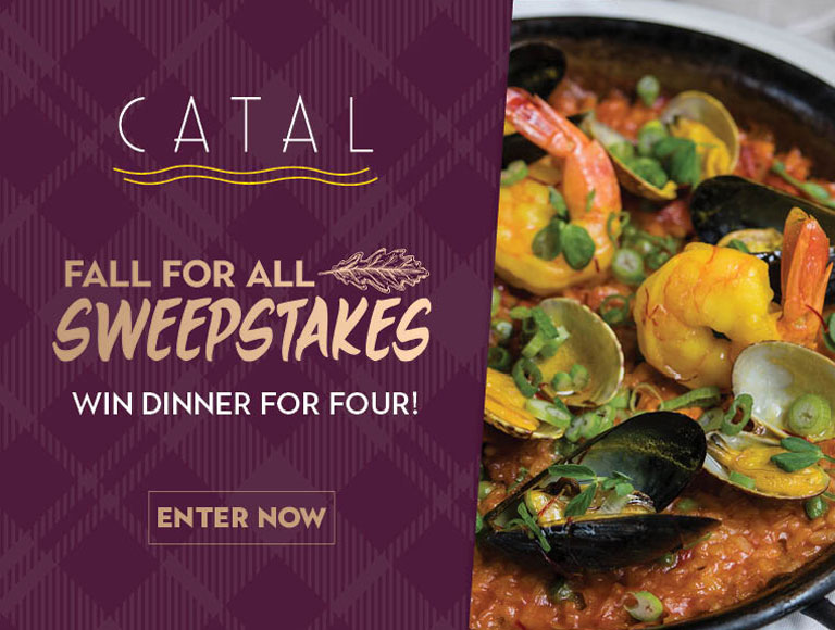 Fall For All Sweepstakes, Win Dinner For Four!