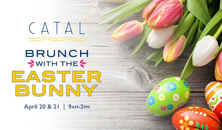 Brunch with the Easter Bunny | April 20 & 21, 9am-2pm | Buy Tickets Now
