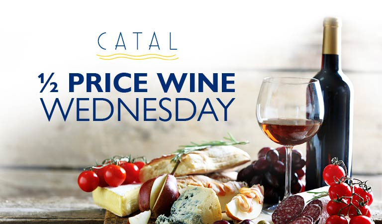 1/2 Price Wine Wednesday | All day Wednesday Wine specials at Downtown Disney District