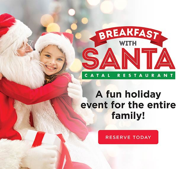 Reserve Now For Breakfast with Santa
