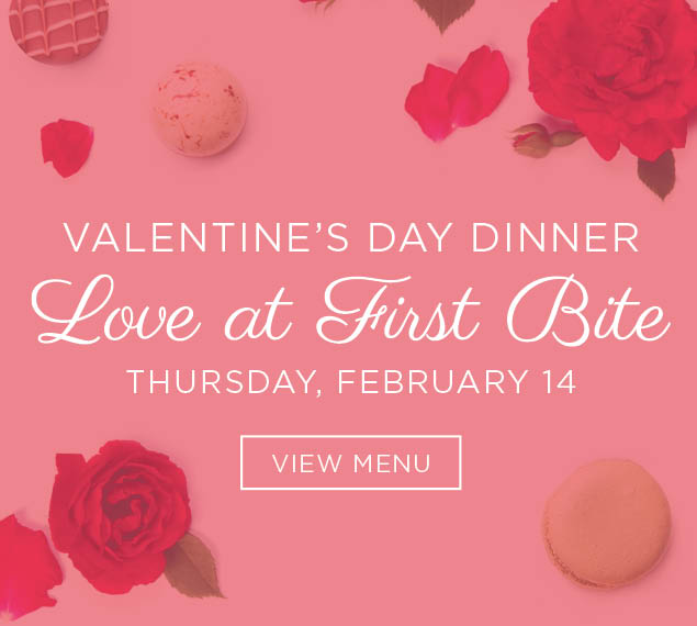View Valentine's Day Menu