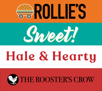 Rollie's | Sweet! | Hale & Hearty | The Rooster's Crow