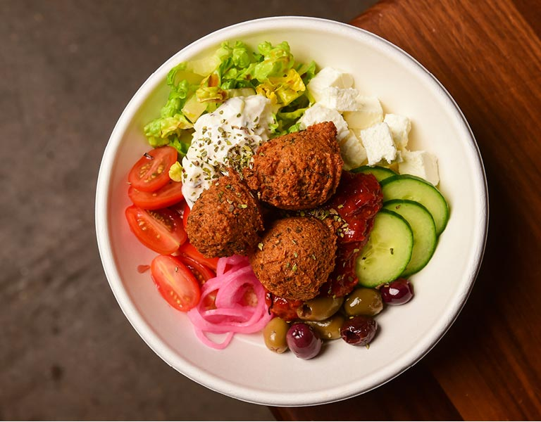 Falafel Bowl, food-to-go, New York City