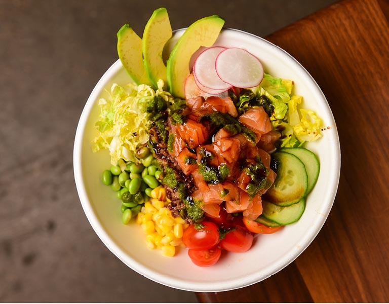 Tuna Poke Bowl, Macy's Herald Square, New York City