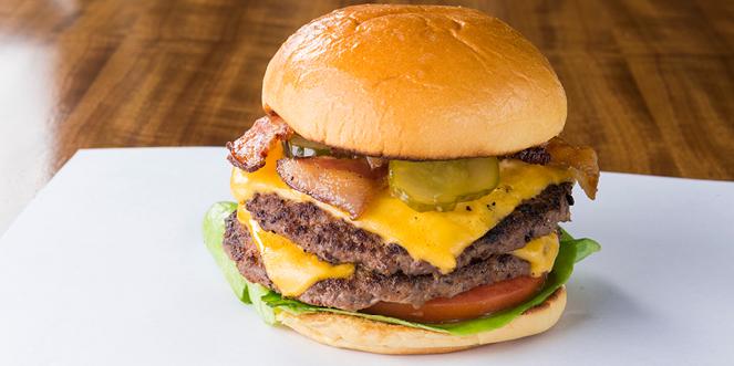 Loaded Bacon Cheeseburger