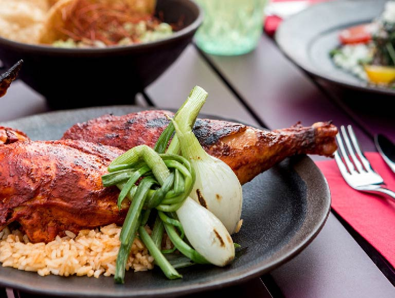 Chicken Dinner, Authentic Mexican Cuisine