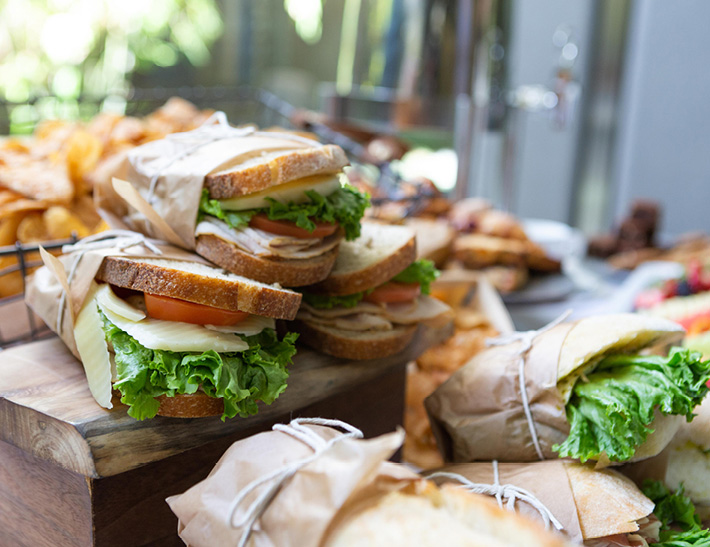 The Best Sandwiches for Lunch Take Out in Santa Monica, CA at Colorado Kitchen