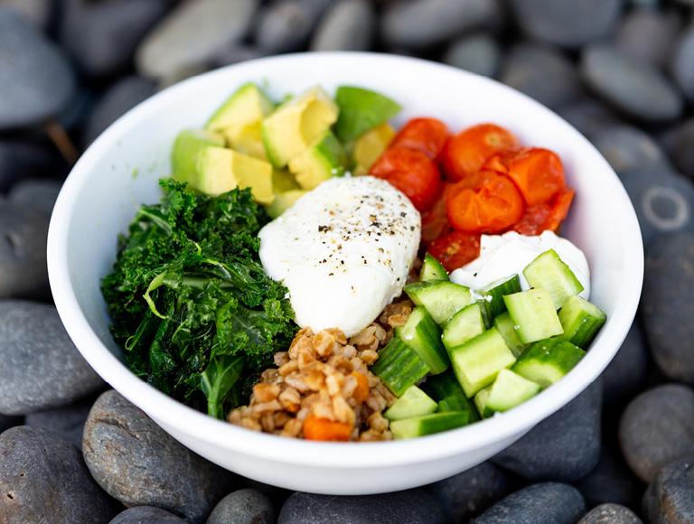 Fresh Salads & Grain Bowls at Colorado Kitchen Food Hall in Santa Monica