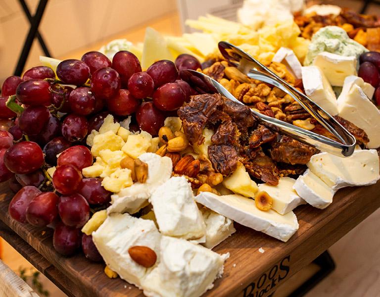 Charcuterie platter prepared by Colorado Kitchen's catering team in Santa Monica, CA