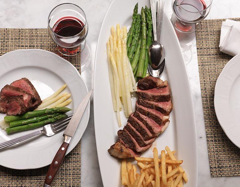 plated food