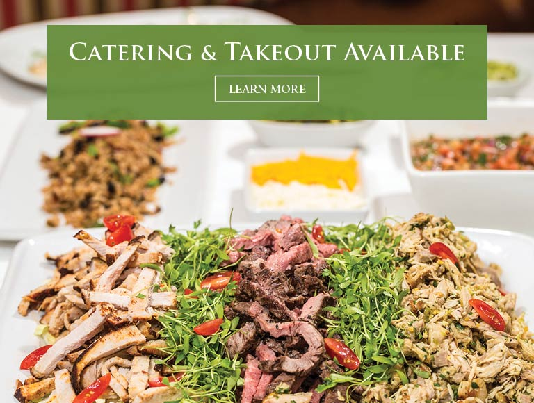 Streak, Chicken & Pork Taco Bar | Catering & Takeout Available | Learn More