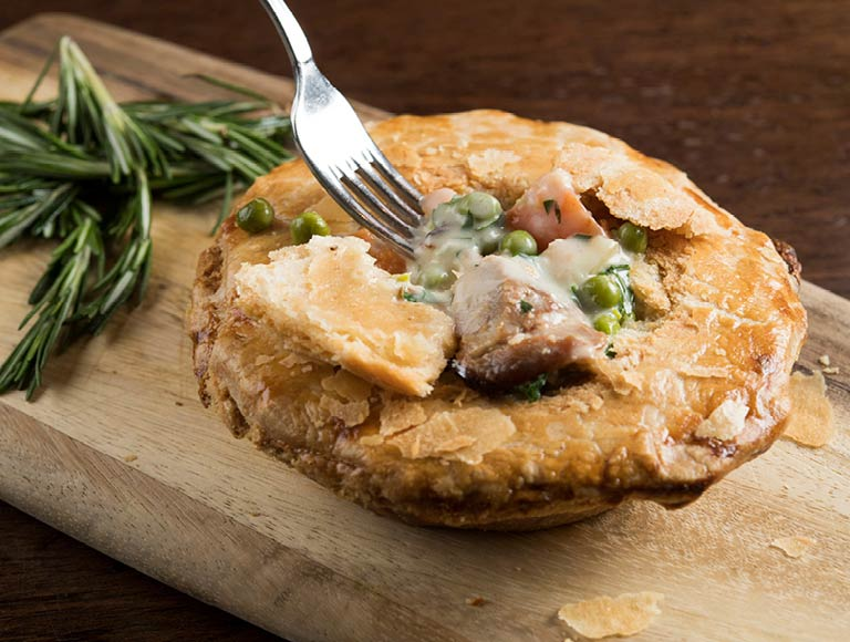 Chicken Pot Pie | Rockefeller Center dining, New York City