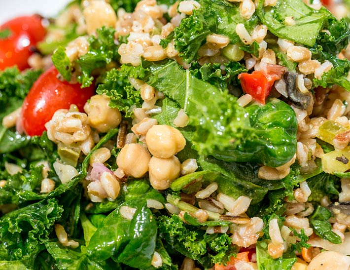 Fresh Build-Your-Own Greens and Grain Salad   Lunch Specials Near Rockefeller Center NYC