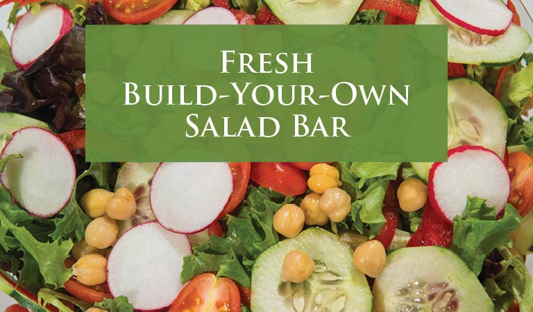 Fresh Build-Your-Own Salad Bar   Best Lunch Spot in Midtown NYC