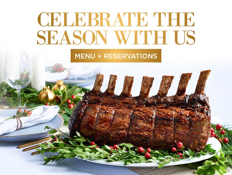 Menu + Reservations | Celebrate the Season with us