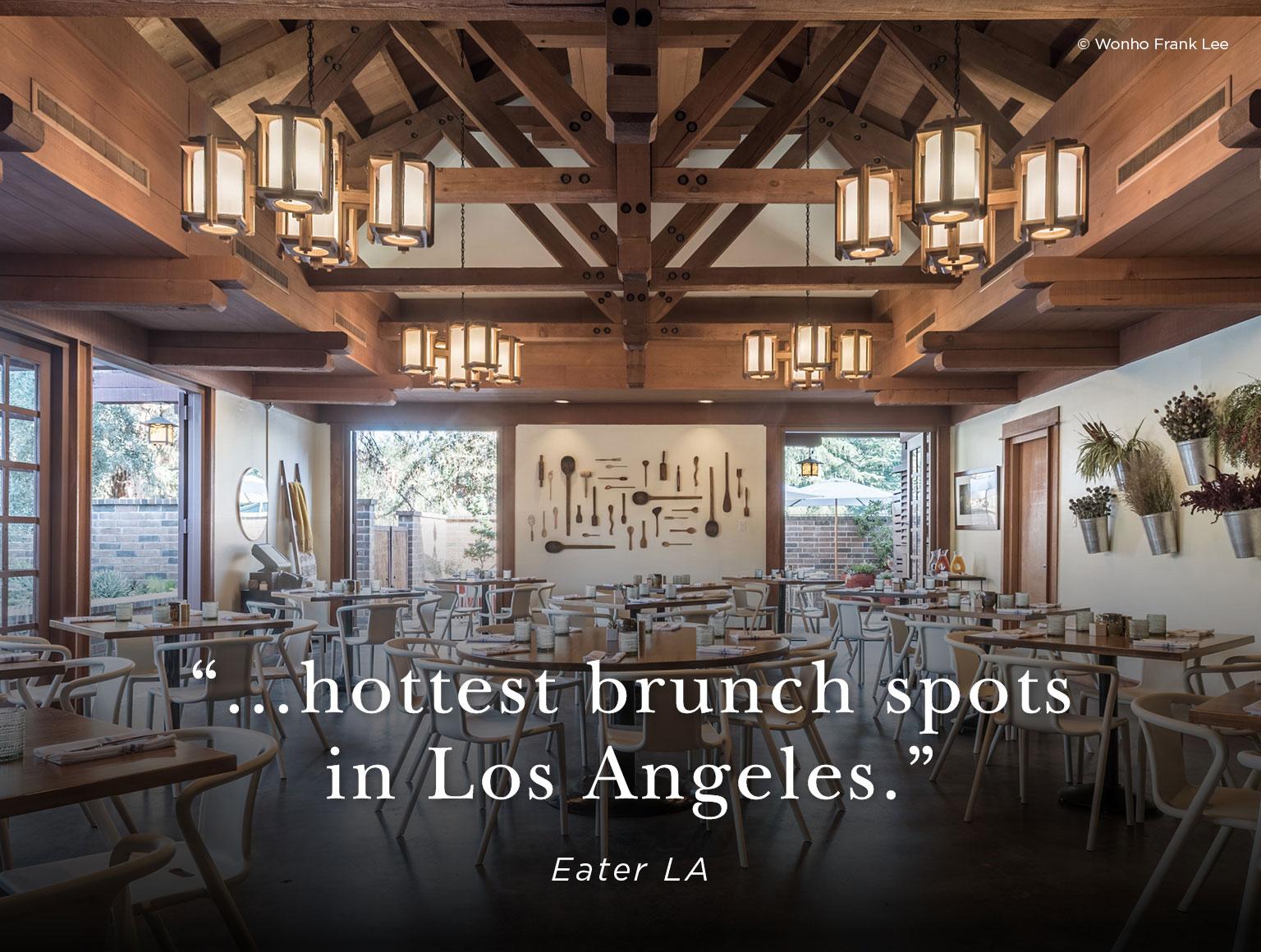 Best Brunch Los Angeles