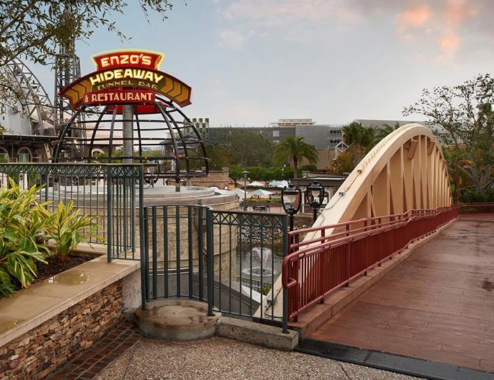 Enzo's Hideaway Disney Springs Florida