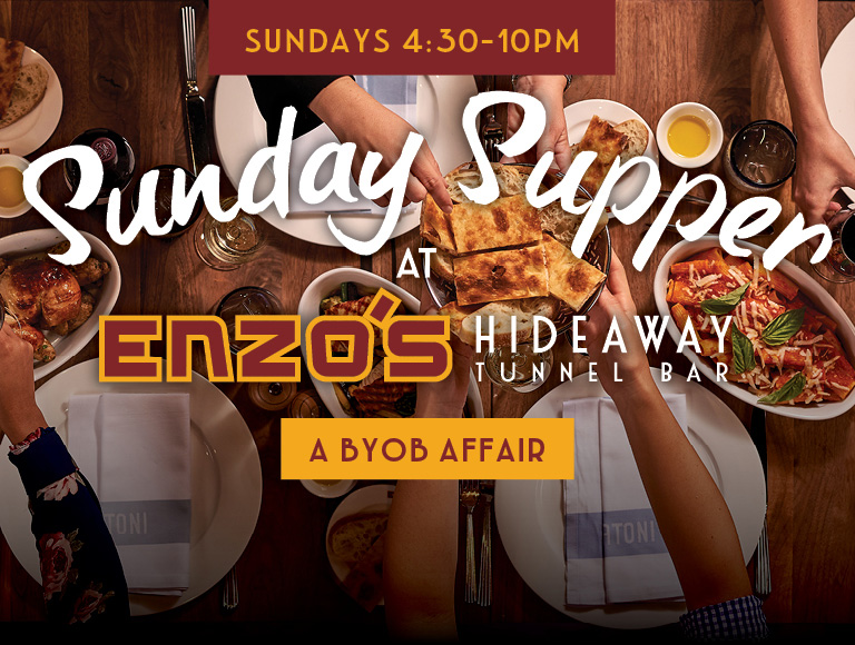 Sunday Supper | Sundays 4:30-10pm | Disney Springs Italian dining