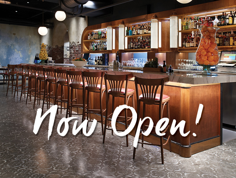 Enzo's Hideaway Now Open!