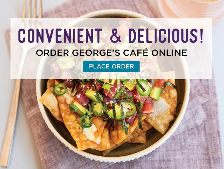 Convenient & Delicious! Order George's Cafe Online | Place Order Now