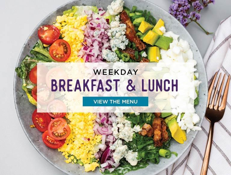 View Weekday Breakfast & Lunch Menus