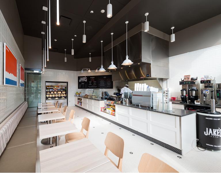 Downtown Buffalo café