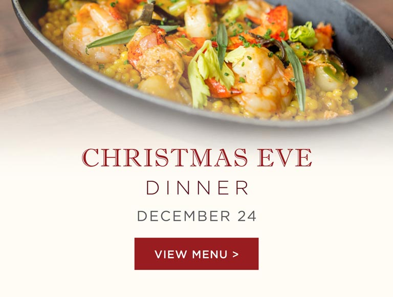 Christmas Eve Dinner at Kendalls Brasserie and Bar