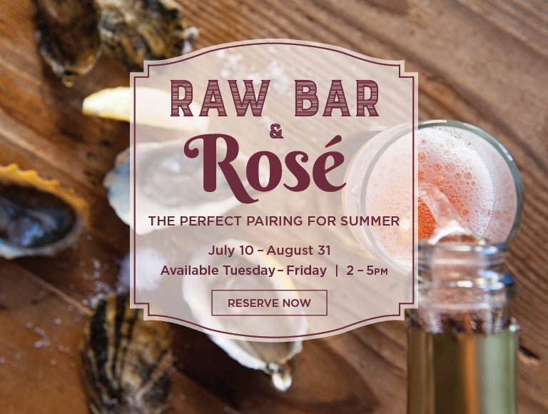 Raw Bar and Rosé, Los Angeles
