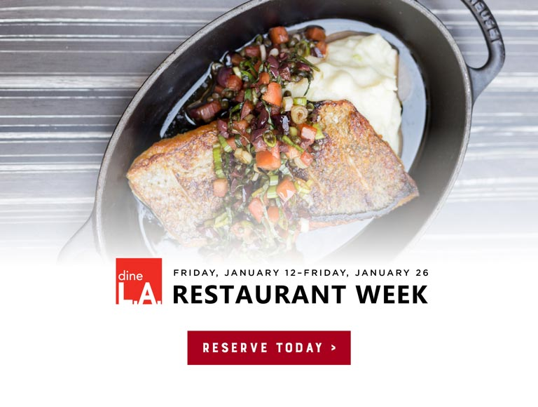 Eat at Kendall's for DinaLA Restaurant Week