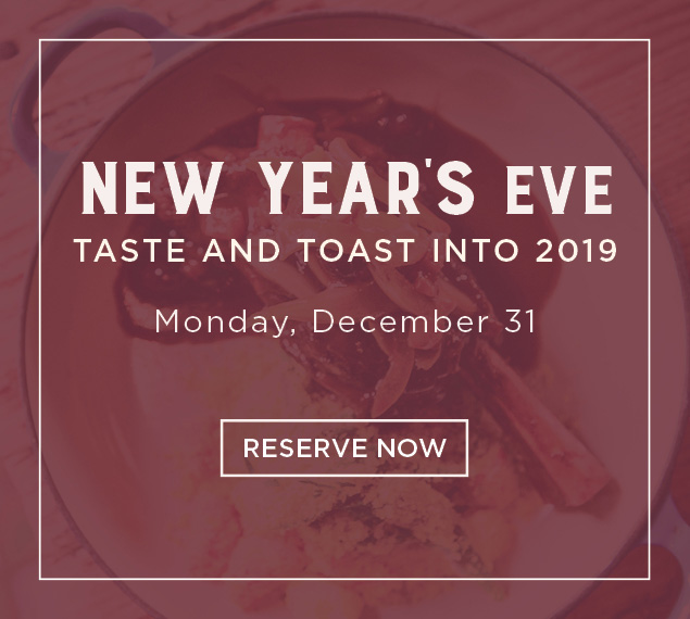 Reserve Now for New Year's Eve
