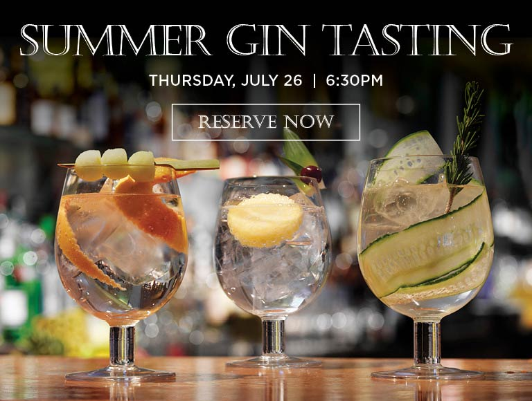 Reserve now for Summer Gin Tasting, MetLife Building, New York City